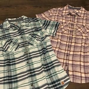 Two New Plaid Carhartt Shirts